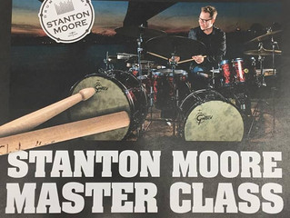 Stanton Moore Master Class in Erie PA Sunday March 19th.