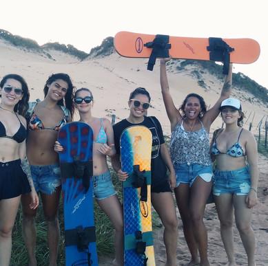 Sandboard em Pipa