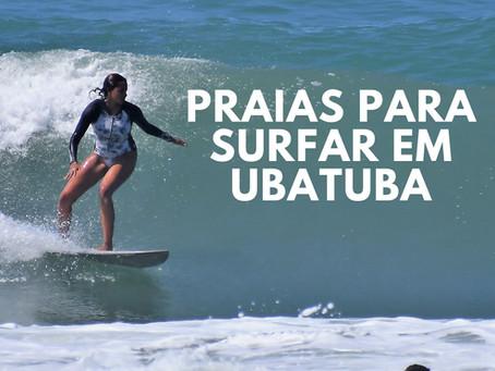 Praias para surfar em Ubatuba