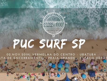 Inscrições abertas para o campeonato universitário PUC SURF 2019