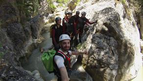 Canyoning at Agios Loukas 16/06/2019