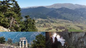 Hiking in Delphi 9/6/2019