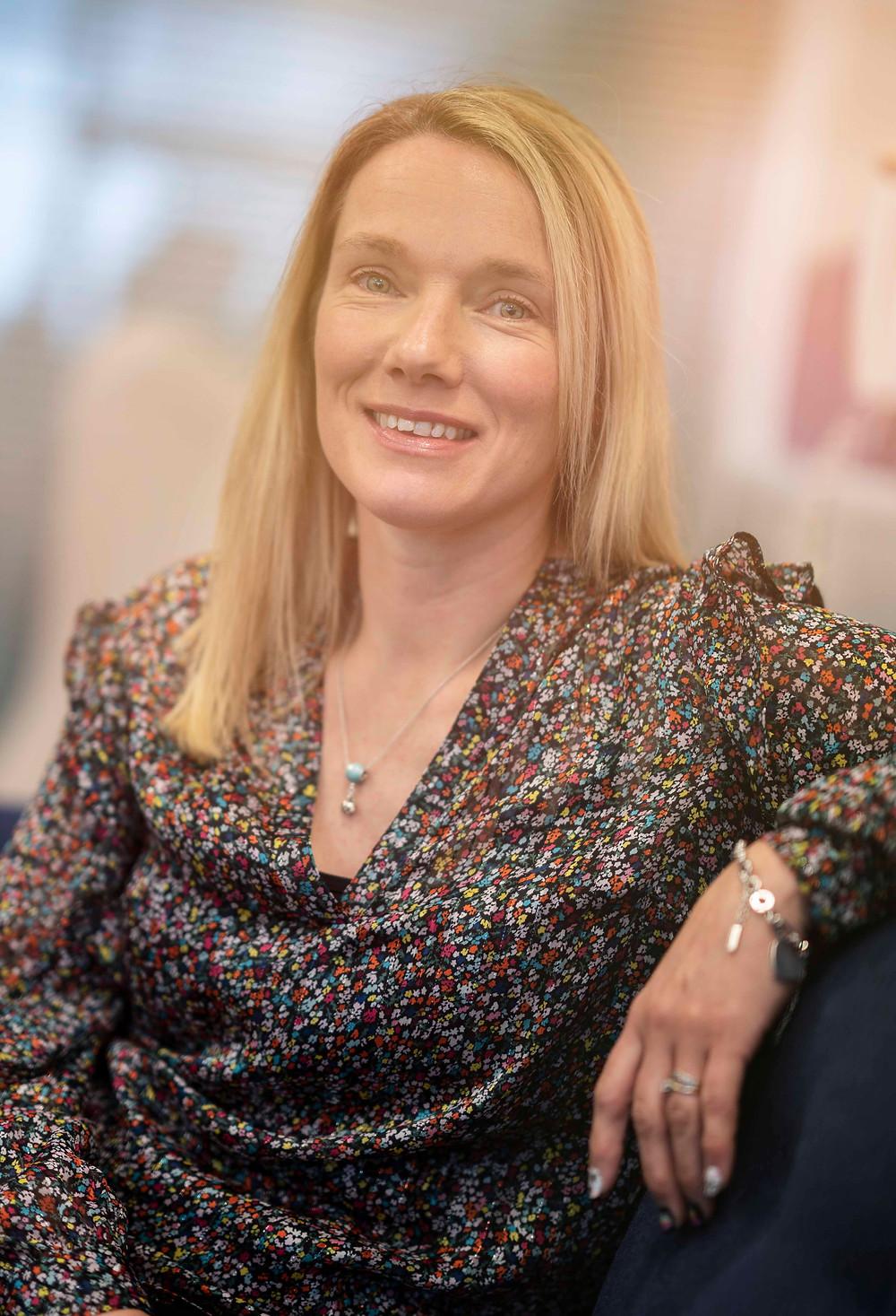 Portrait of Kelly Blyth