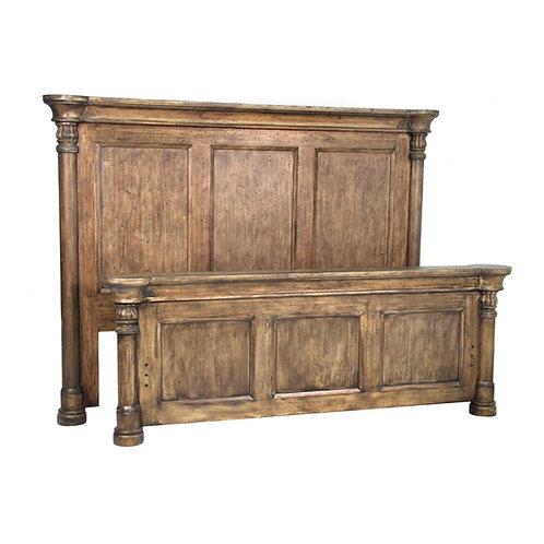 Biedermeier Bed King Driftwood