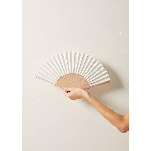 Linen Hand Fan
