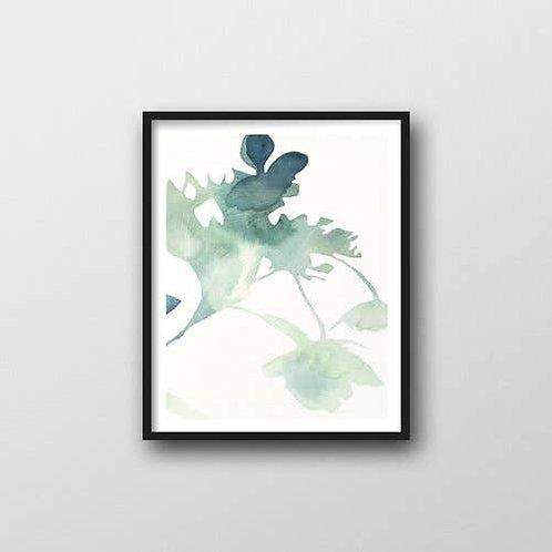 Hydrangia Art Print
