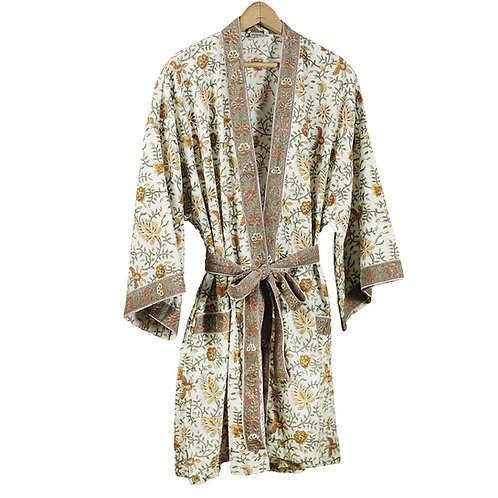 Flower Vine Travel Robe