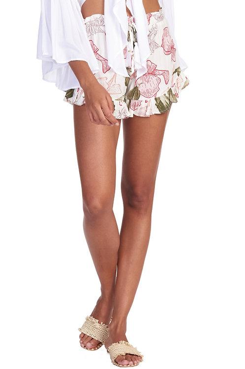 Pink Flora Short