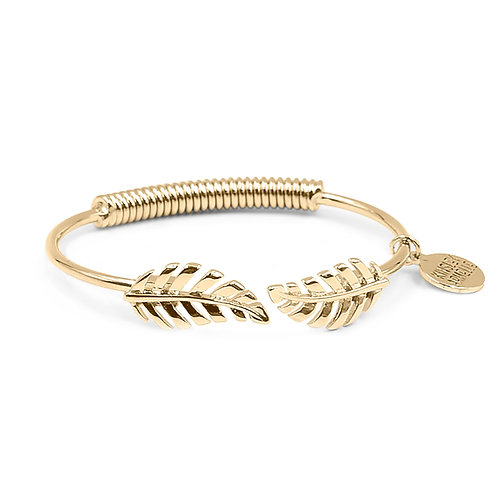 Goddess Leaf Bracelet - Gold