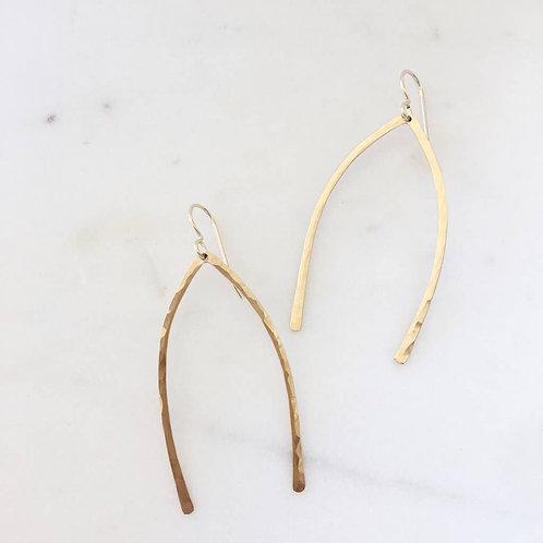 Wishbone Earring