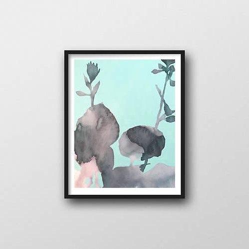 Hosta Art Print