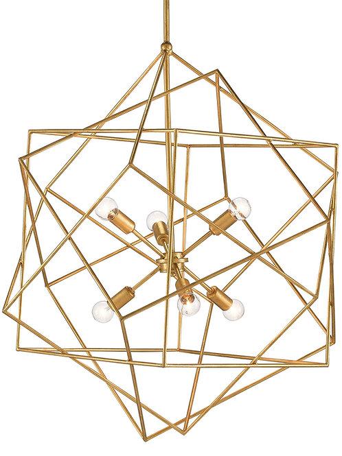 Ariat Chandelier - Gold