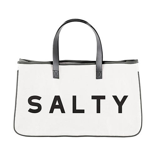 Canvas Tote - Salty