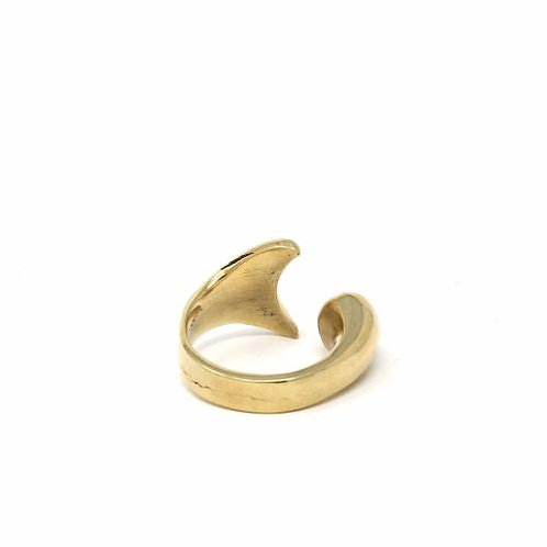 Brass Mermaid Ring