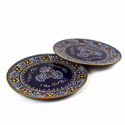 Encantada (Set of 2) Plates - Blue