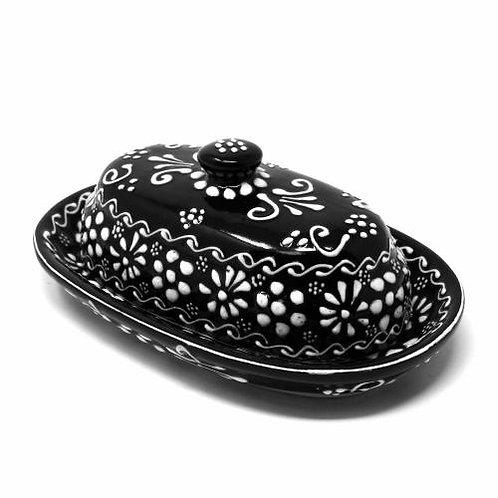Encantada Butter Dish - Ink