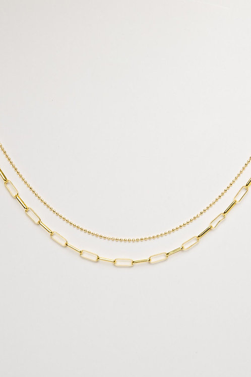 The Link - Unisex Double Choker