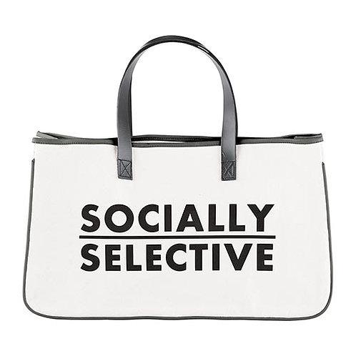 Canvas Tote - Socially Selective