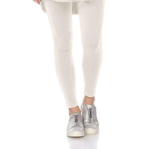 The Iconic Legging - Winter White