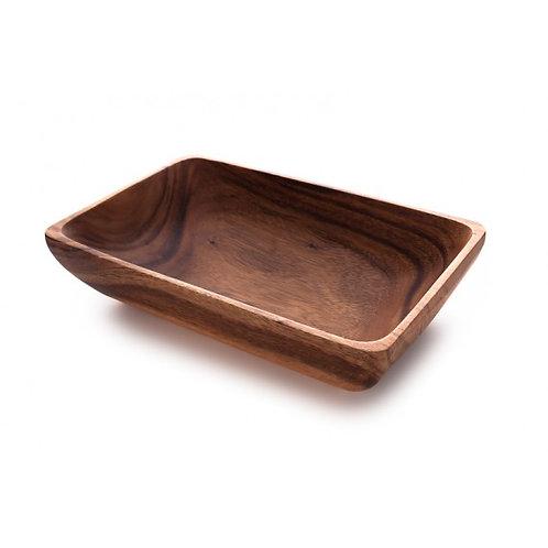 Acacia Rectangle Bowl