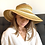 Thumbnail: Striped Roll-Up Sun Hat