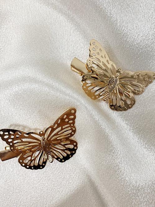 Monarch Hair Clips - Bracha