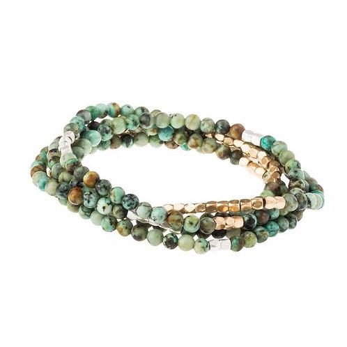 Stone of Transformation - Wrap Bracelet/Necklace