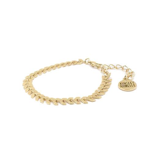 Goddess Lance Bracelet - Gold