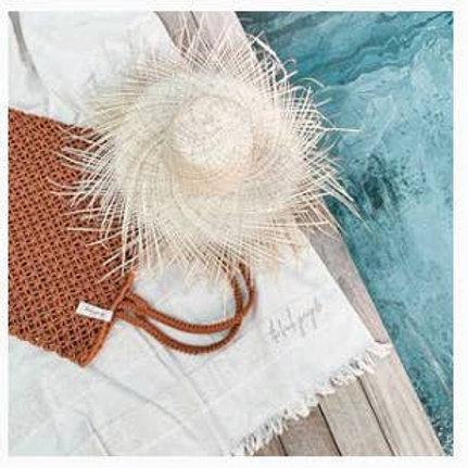 Turkish Seaside Cream Towel