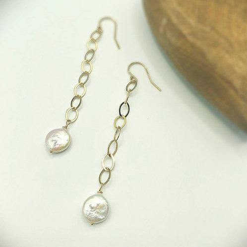 Charley Pearl Drop Earrings