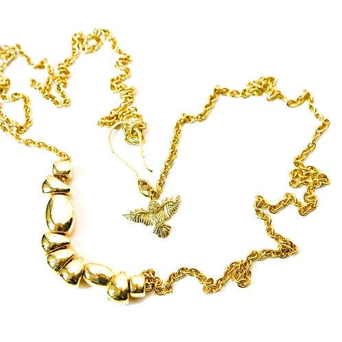 Pebble Wrap Necklace