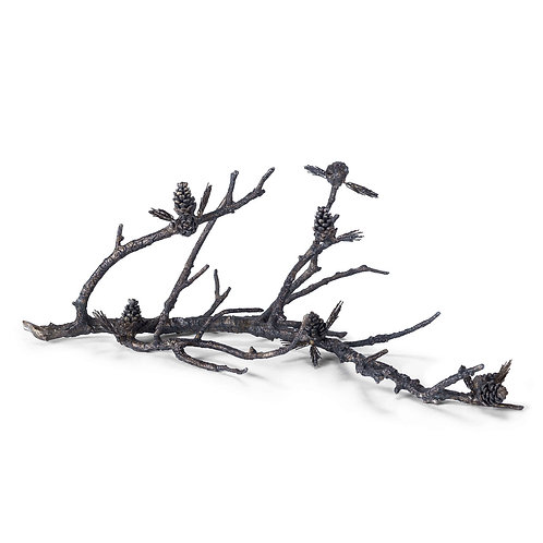 Pinecone Branch Sculpture
