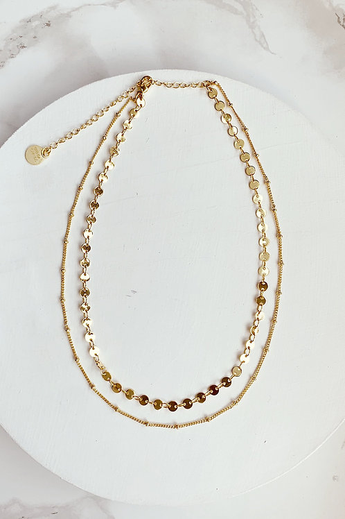 Sigma Double Choker Necklace