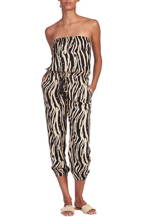 Tanned Zebra Romper