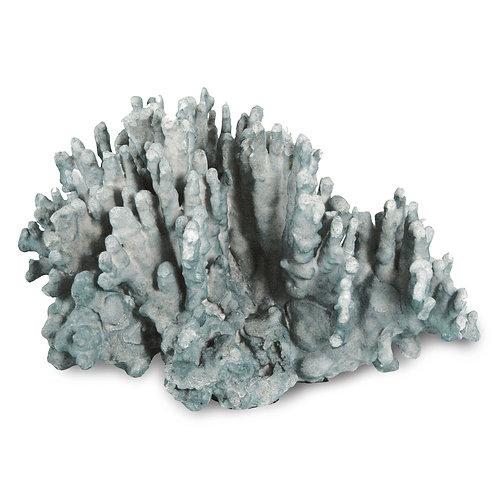 Blue Coral Art Piece - Large