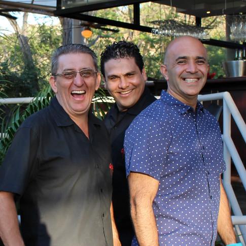 Alex, Jorge, Francisco