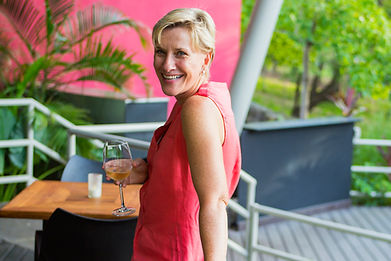 Anne Hegney, chef/owner of Ginger Restaurant, Playa Hermosa, Costa Rica