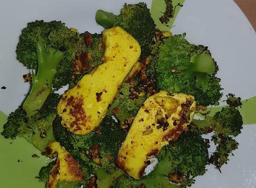Keto Broccoli Paneer Fry