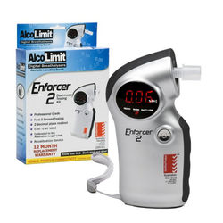 Enforcer 2 Breathalyser and package