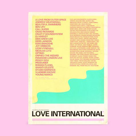 Love International Poster design