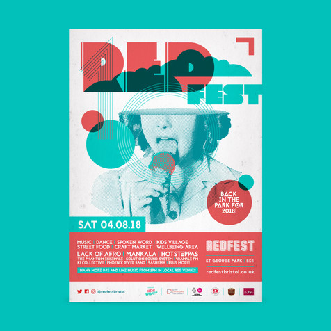 Redfest Line up Poster 2018