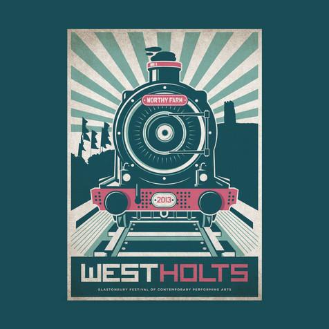 West Holts train illiustration