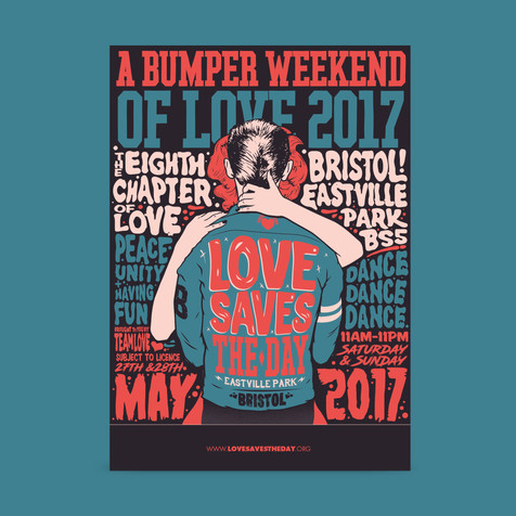Love Saves the Day 2017 Poster