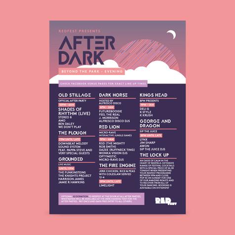 Redfest After Dark Line up 2018