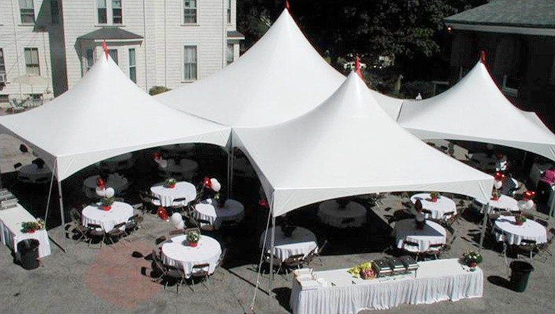 A party tent gives you the convenience of hosting parties the way you want.