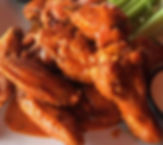 Arlington's best chicken wings. Perfect cooked chicken wings with mulitple sauce styles