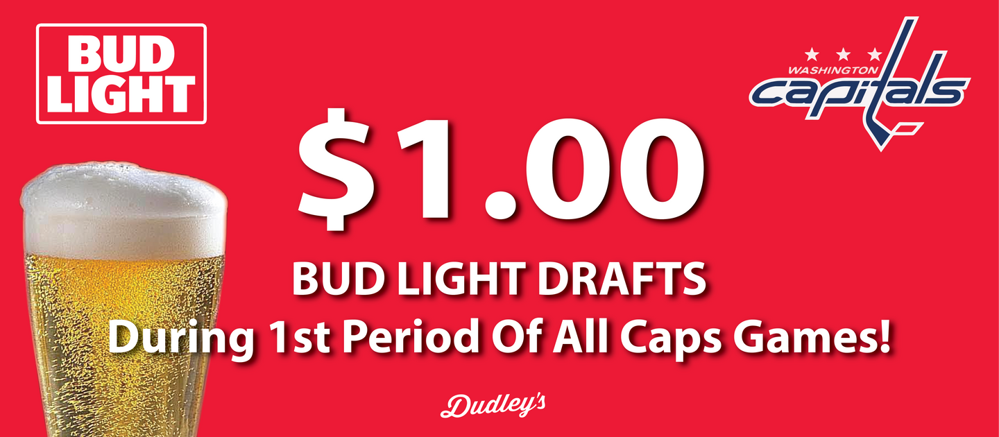 Dollar Bud Light Draft Beers