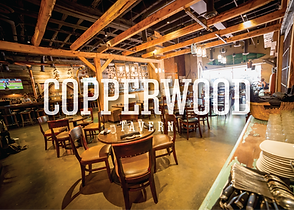 Copperwood Tavern in the heart of Shirlington Village