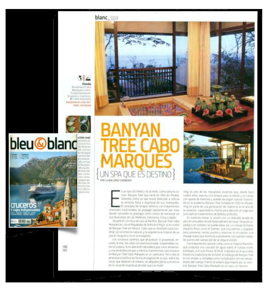GACETA BANYAN TREE MK CABO MARQUES 1