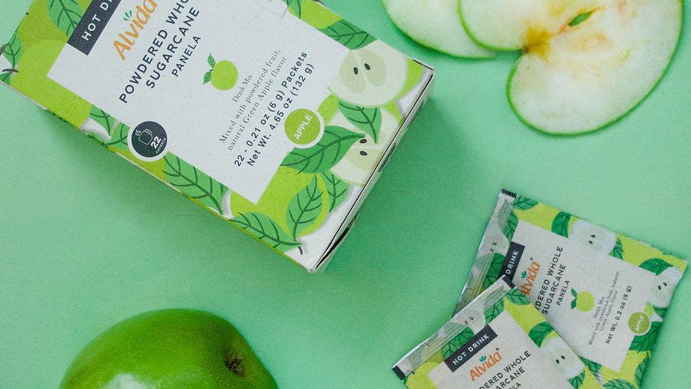 Alvida Hot Drink : Powdered Whole Sugarcane Green Apple Flavor